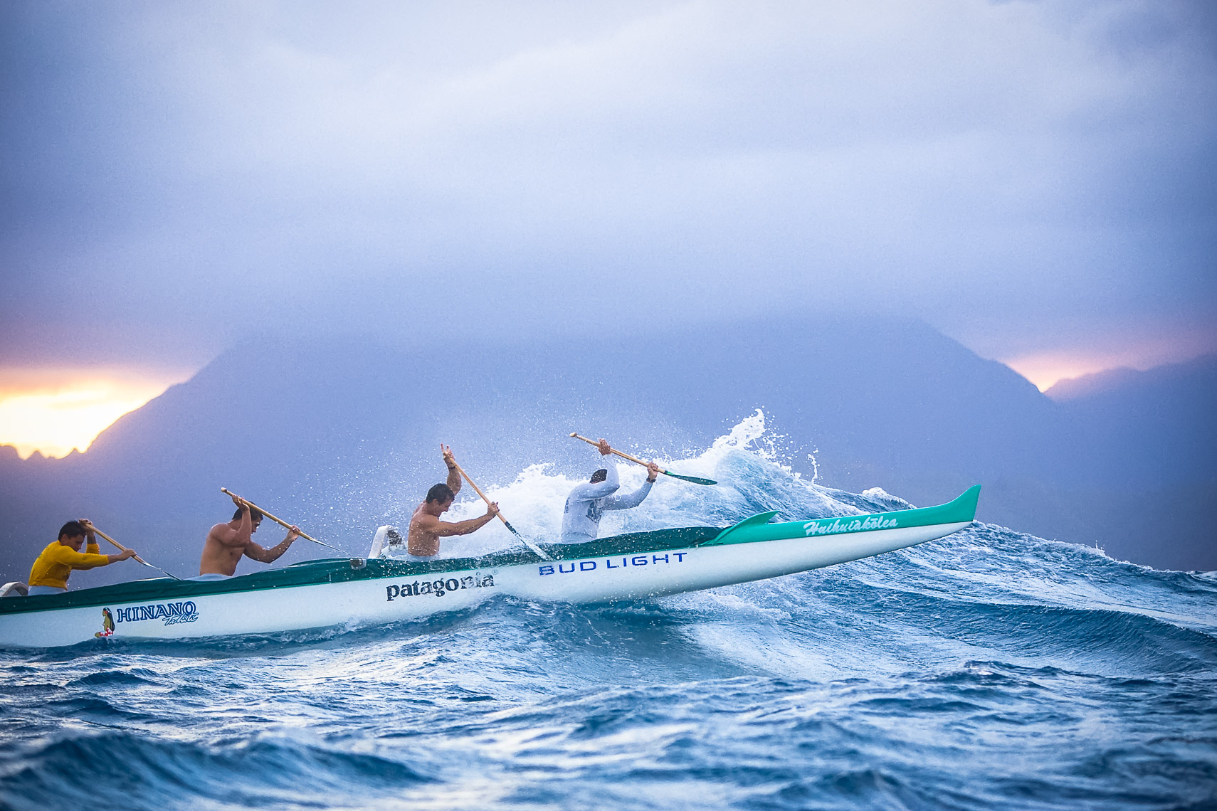 Lanikai Canoe Club Oahu Hawaii for Canoe and Kayak Magazine