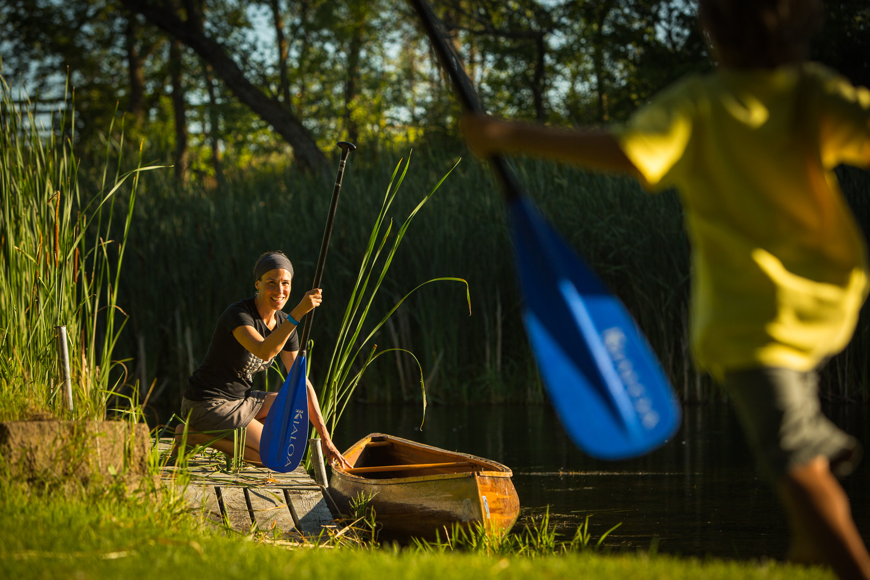 Kialoa Paddles Advertising and Catalog Lifestyle Photography Shoot Minnesota