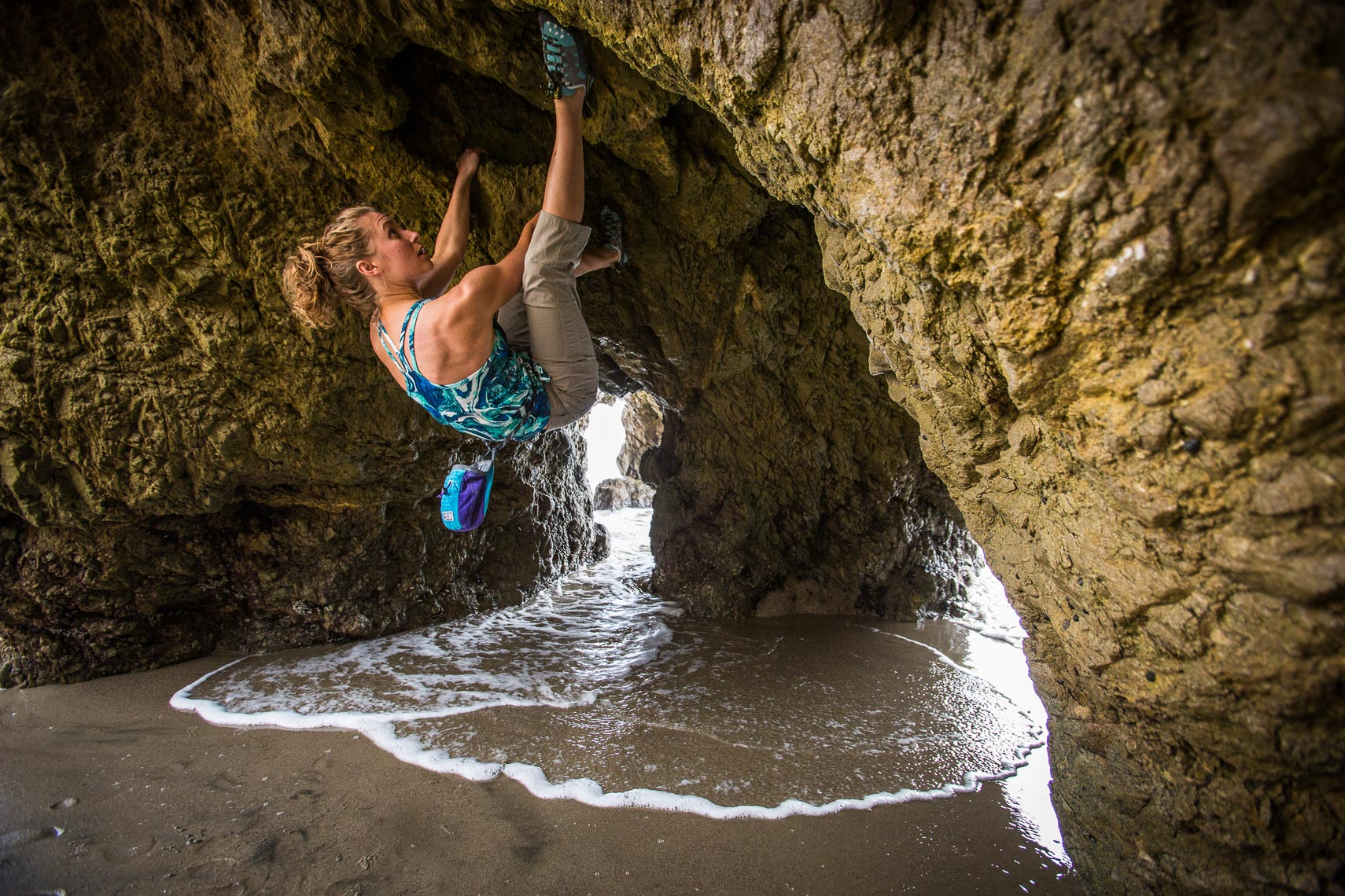 Bouldering on the California Coast