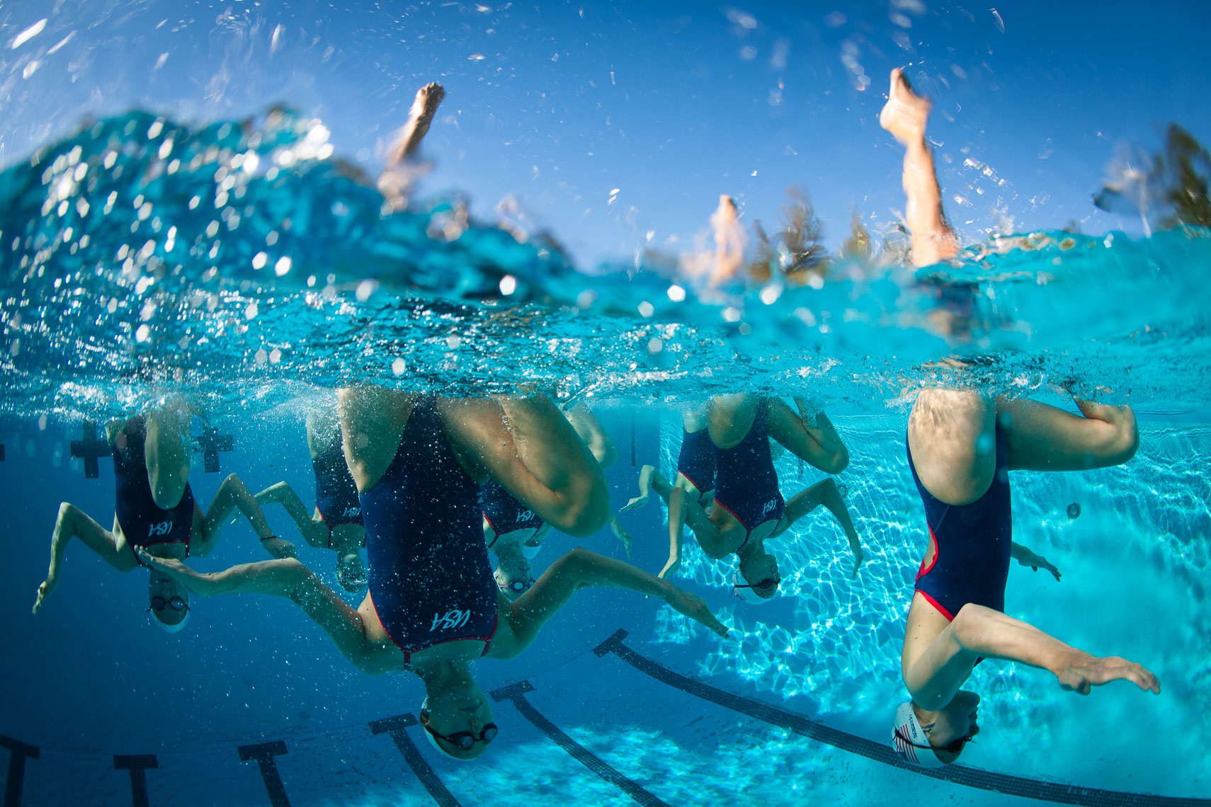 Underwater Series of United States Olympic Synchronized Swim Team
